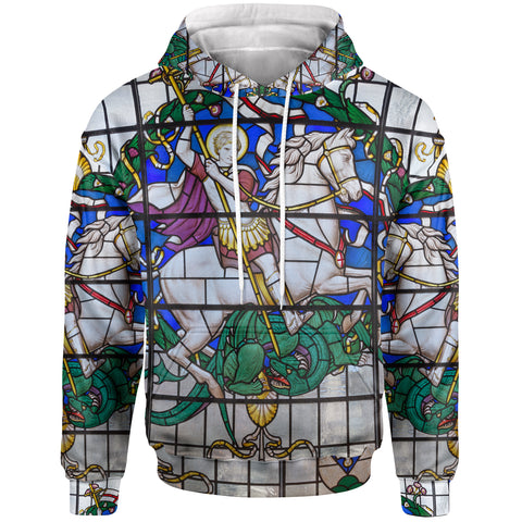 Image of 1sttheworld Hoodies - Duel of St. Georeg with the Devil in Joriskerk - BN17