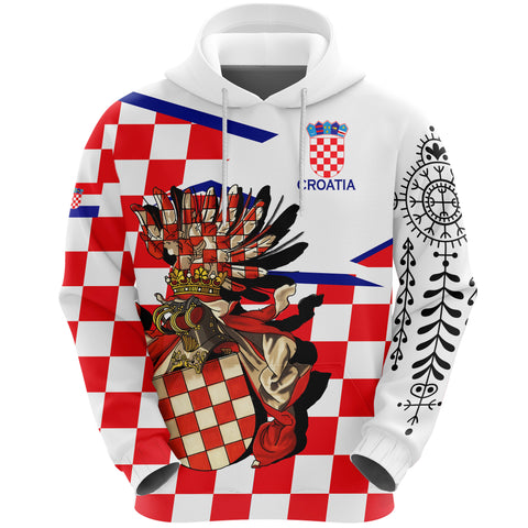 Image of Croatia Hoodie - Croatian Tattoo A7