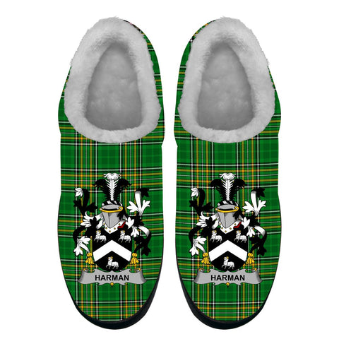 Harman Ireland Fleece Slipper - Irish National Tartan A7