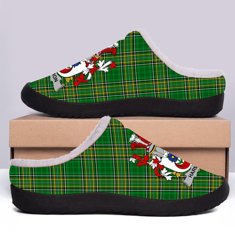 Harmon Ireland Fleece Slipper - Irish National Tartan A7