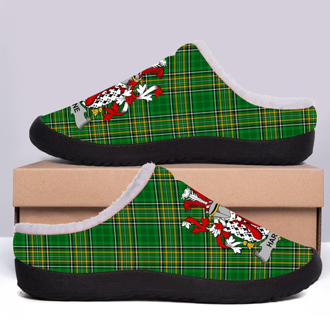 Image of Harne Ireland Fleece Slipper - Irish National Tartan A7