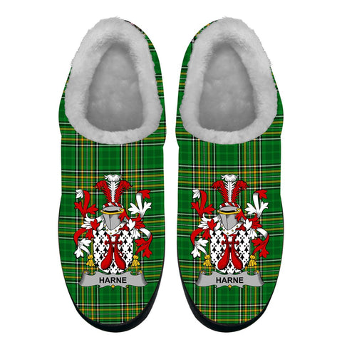 Harne Ireland Fleece Slipper - Irish National Tartan A7