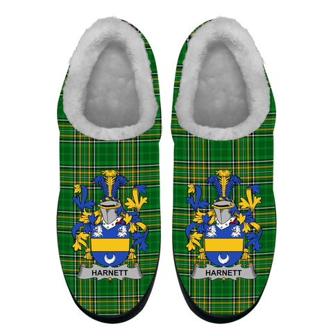 Harnett or Hartnet Ireland Fleece Slipper - Irish National Tartan A7