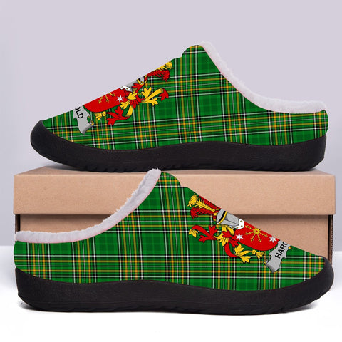 Harold or Harrell Ireland Fleece Slipper - Irish National Tartan A7