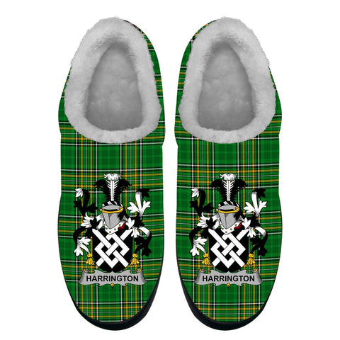 Harrington Ireland Fleece Slipper - Irish National Tartan A7