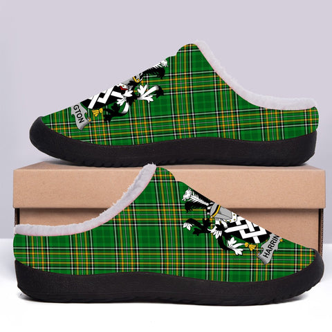 Image of Harrington Ireland Fleece Slipper - Irish National Tartan A7