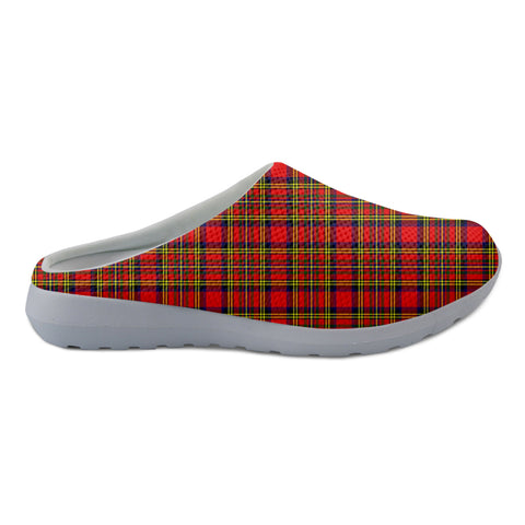 Hepburn Tartan Back Open Shoes TH8