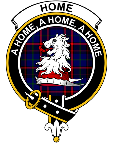 Tartan Polo Shirt - Home (Or Hume) Badge (Women's) A9