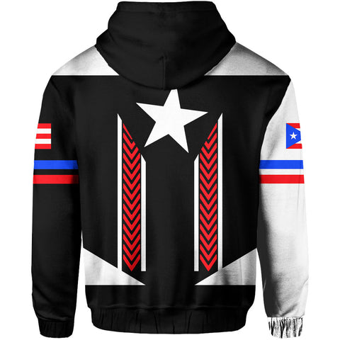Puerto Rico Baseball Team Hoodie Zip - Version 2 - J6