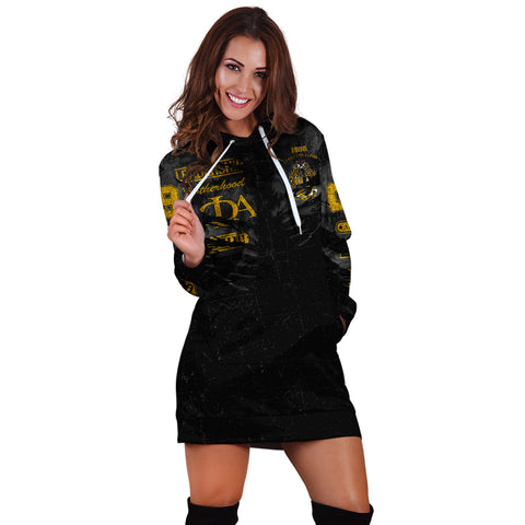 Alpha Phi Alpha In Me Hoodie Dress - Special Grunge Style A31