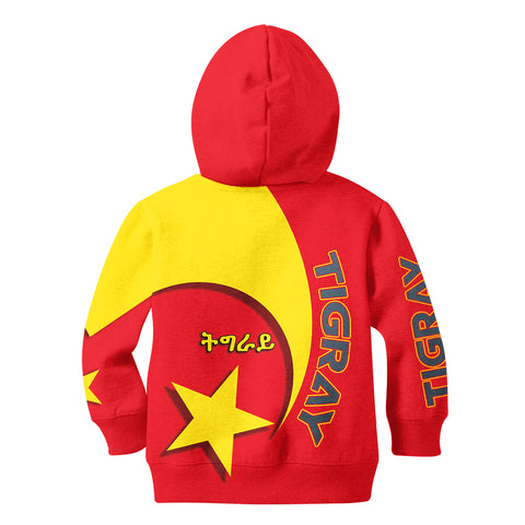 Image of 1stTheWorld Tigray Hoodie Kid New Release A25