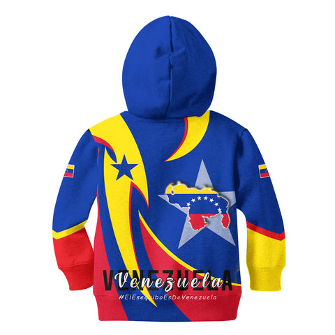 1stTheWorld Hoodie Kid - Venezuela In My Heart A30