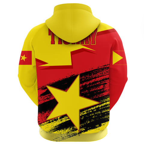 Tigray Flag And Map Special Zip Hoodie A27