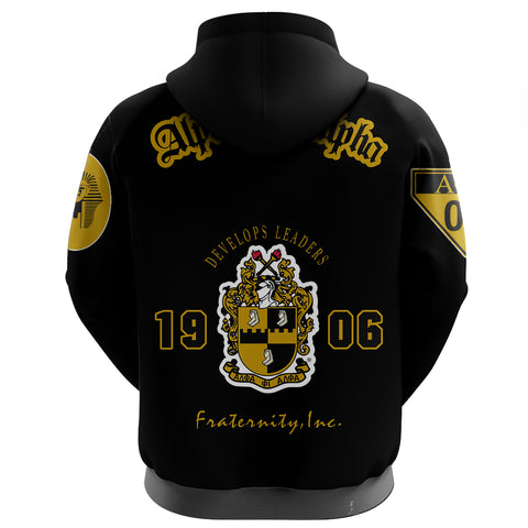 Alpha Phi Alphla Establish 1906 Zip Hoodie A27