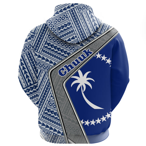 Chuuk Zip Hoodie - Polynesian Coat Of Arms | Love The World