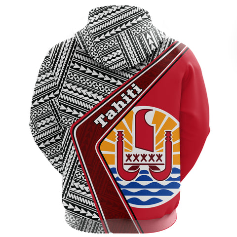Tahiti Zip Hoodie - Polynesian Coat Of Arms | Love The World