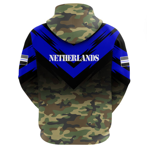 New Zealand Flag Hoodie- Based Version Of The Thin Blue Line Symbol A25