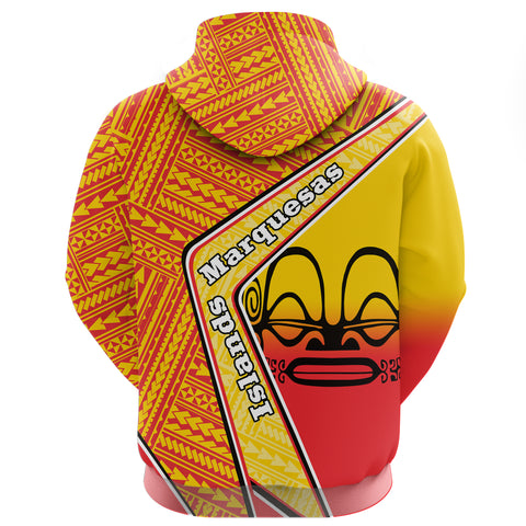 Image of Marquesas Islands Zip Hoodie - Polynesian Coat Of Arms | Love The World