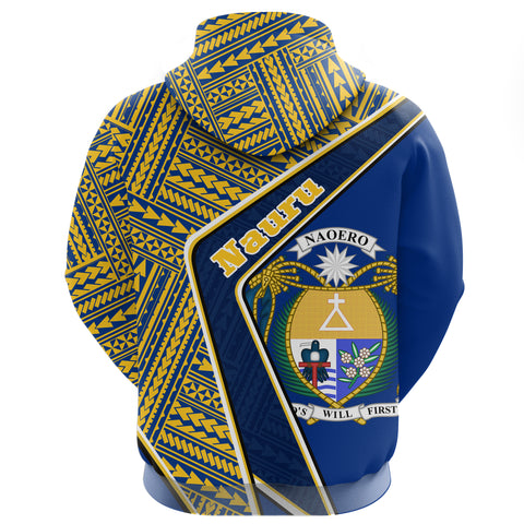 Nauru Hoodie - Polynesian Coat Of Arms | Love The World