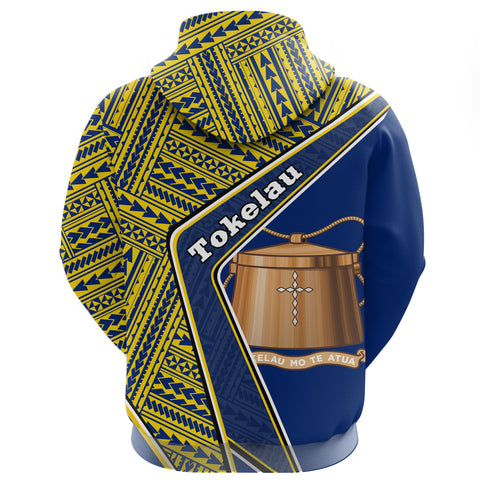 Tokelau Zip Hoodie - Polynesian Coat Of Arms | Love The World