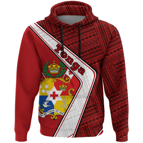 Tonga Hoodie - Polynesian Coat Of Arms | Love The World
