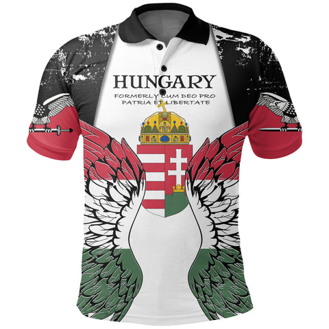 Hungary Turul Wings Polo Shirt K5