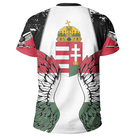 Hungary Turul Wings T Shirt K5