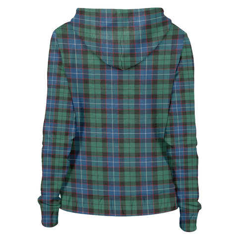 Image of Tartan Zip Hoodie -Hunter Ancient | Men & Women | Clothing