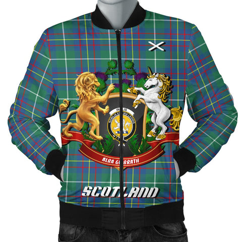 Inglis Ancient | Tartan Bomber Jacket | Scottish Jacket | Scotland Clothing