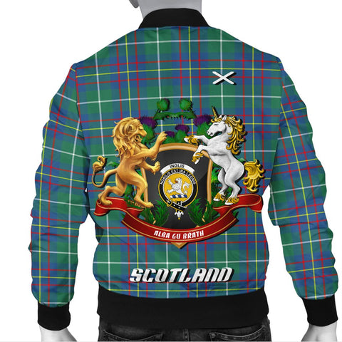 Image of Inglis Ancient | Tartan Bomber Jacket | Scottish Jacket | Scotland Clothing