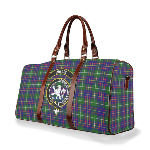 Tartan Travel Bag - Inglis Clan | Scottish Travel bag | 1sttheworld