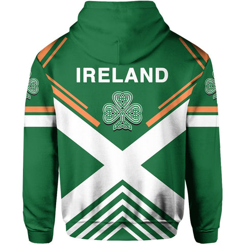 Irish Hoodie - Flag European Nations Style