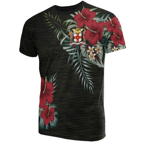 Image of Jamaica Hibiscus T-Shirt A7