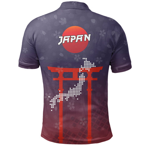 Japan Polo Shirt With Special Things K5