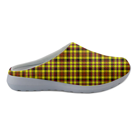Jardine Tartan Back Open Shoes TH8