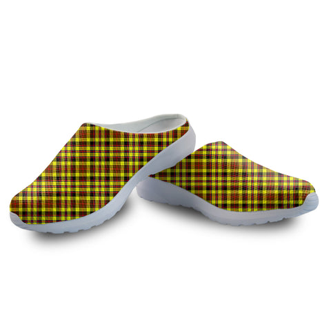 Jardine Tartan Back Open Shoes | 1sttheworld.com