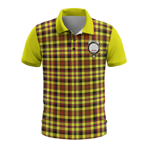 Jardine Clans Tartan Polo Shirt - Sleeve Color Bn