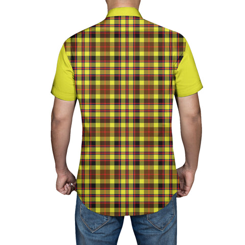 Jardine Tartan Short Sleeve Shirt - Sleeve Color - BN