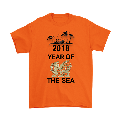 Wales T-Shirt - Year of the Sea - BN08