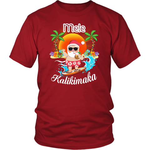 Image of Hawaii - Mele Kalikimaka T-shirt,Hawaii, Mele Kalikimaka, T-shirt, , hawaii t-shirt