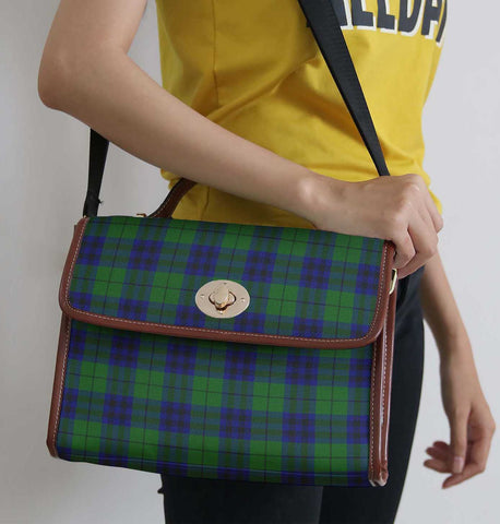 Tartan Bag - Keith Modern Canvas Handbag A9