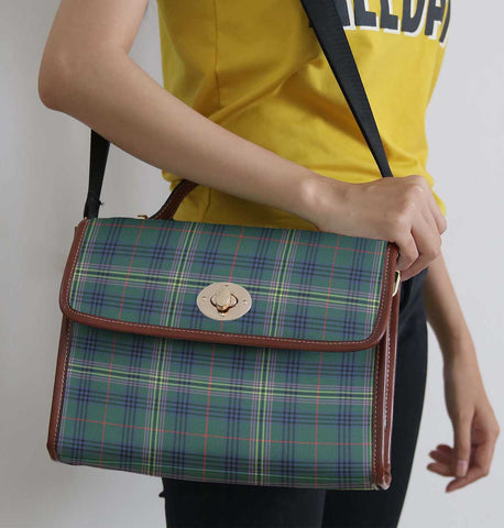 Image of Tartan Bag - Kennedy Modern Canvas Handbag A9