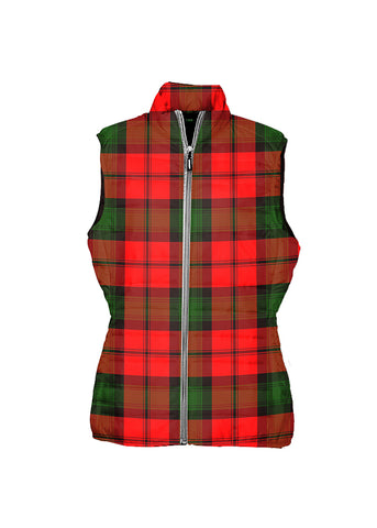 Image of Kerr Modern Tartan Puffer Vest for Men and Women K5