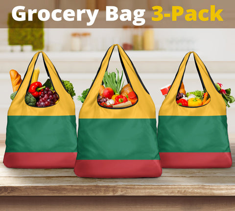 Lithuania Grocery Bag 3-Pack A7