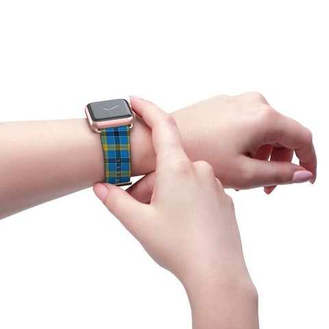 Laing Scottish Clan Tartan Watch Band Apple Watch