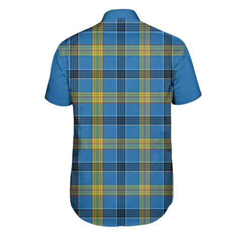 Laing Tartan Short Sleeve Shirt - Sleeve Color - BN