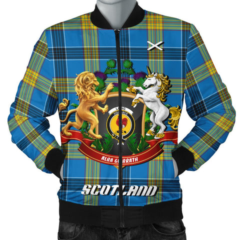 Laing | Tartan Bomber Jacket | Scottish Jacket | Scotland Clothing