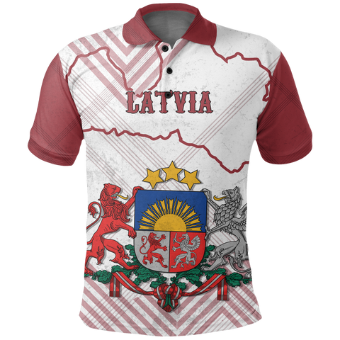 Latvia Polo Shirt K5