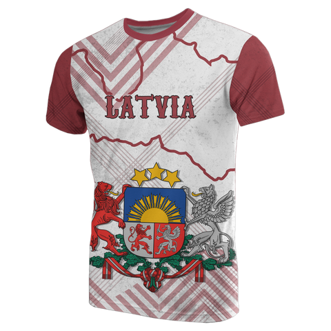 Image of Latvia T Shirt K5