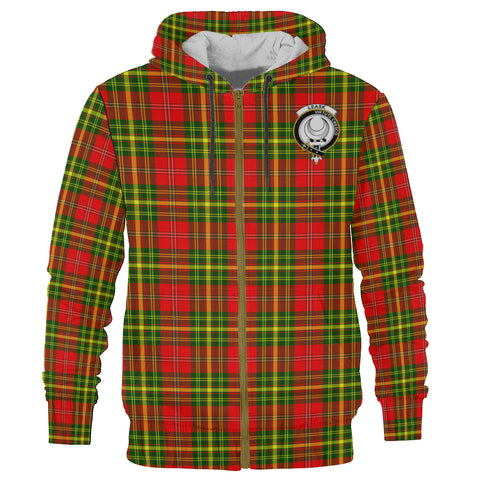 Image of Leask Clan Tartan Zip Hoodie | Men & Women | Clothing
